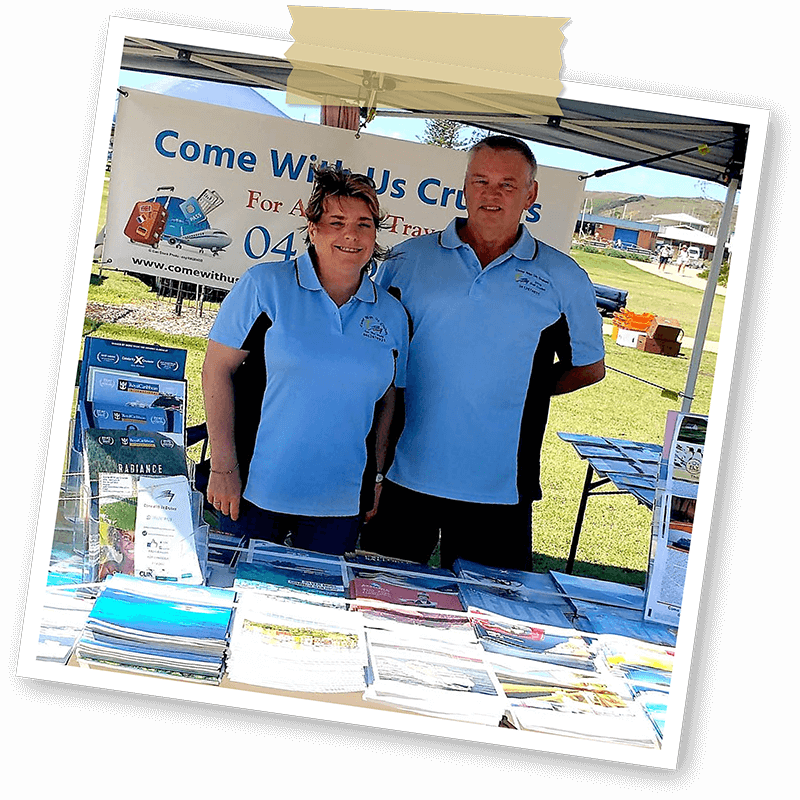 Come with us cruises harbourside markets