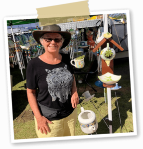 Stallholder Chirps & Chimes at Harbourside Markets Coffs Harbour